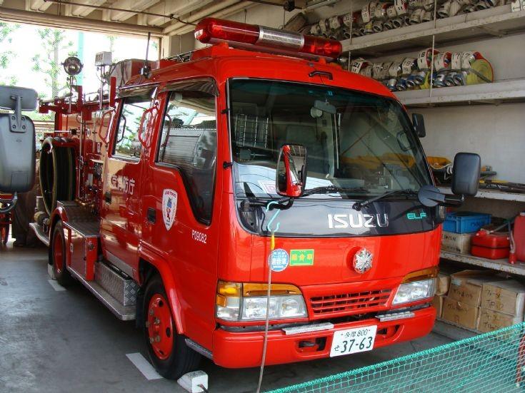 Tokyo Fire Department Isuzu Pumper P09052