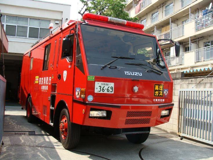 Tokyo FD Isuzu Water Rescue (Chofu FS)