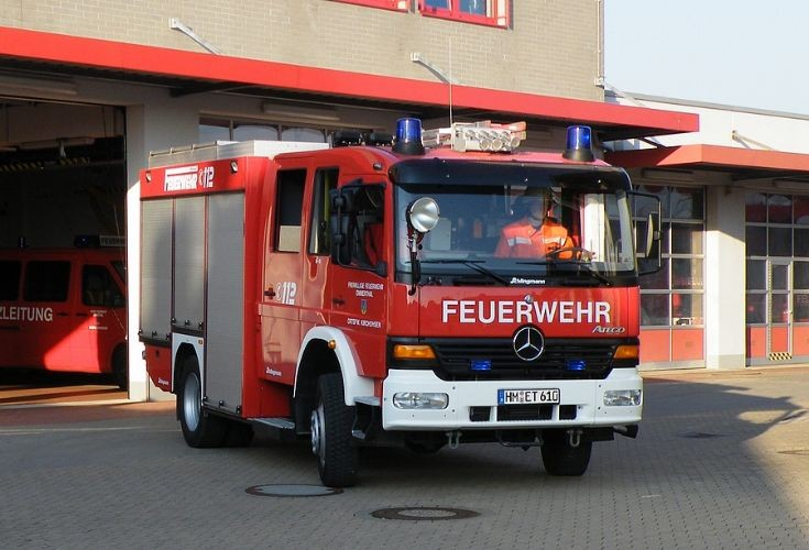A TLF 16-25 of the Feuerwehr Kirchohsen