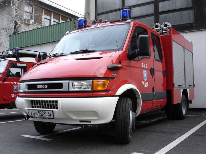 Fire brigade Trnje Zagreb Croatia
