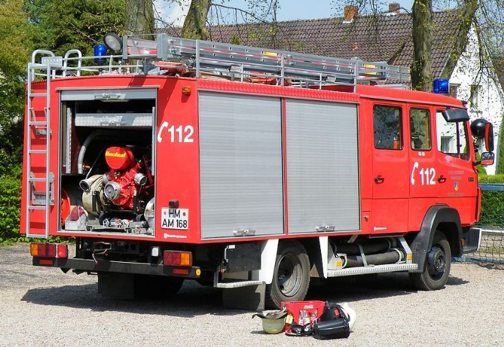 A LF 8 of the Feuerwehr Grohnde