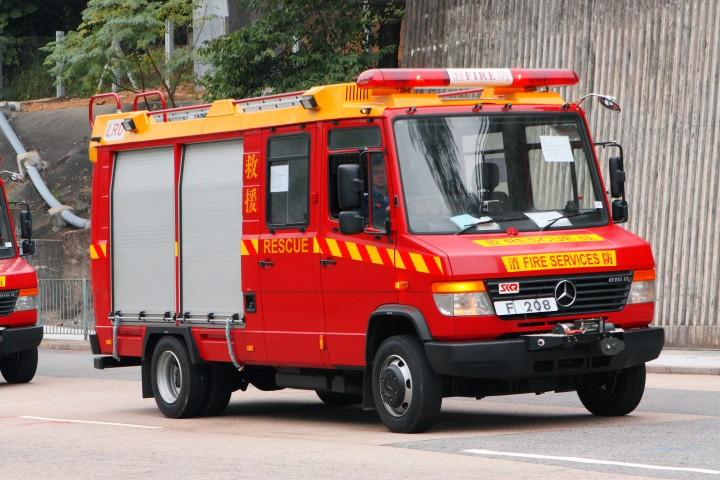 Benz 816D Light Rescue Unit