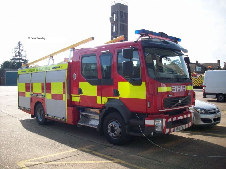 Suffolk Fire & Rescue Service - 2010 Pumps