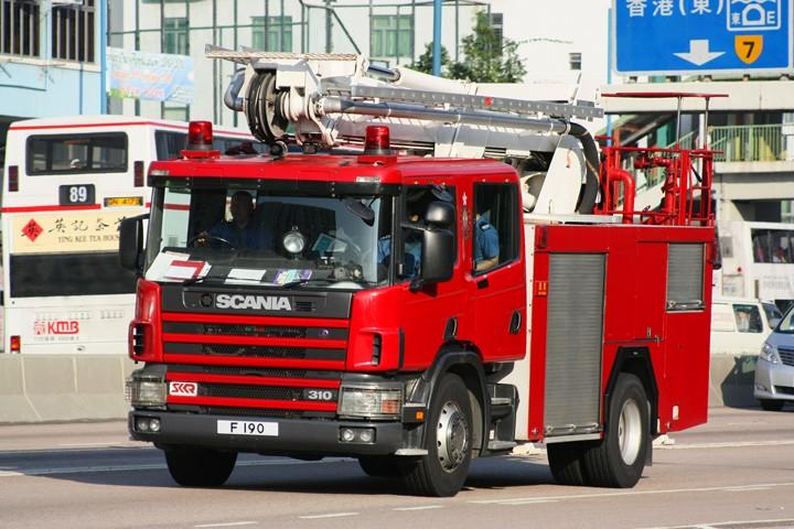 Scania P310 Hydraulic Platform F190