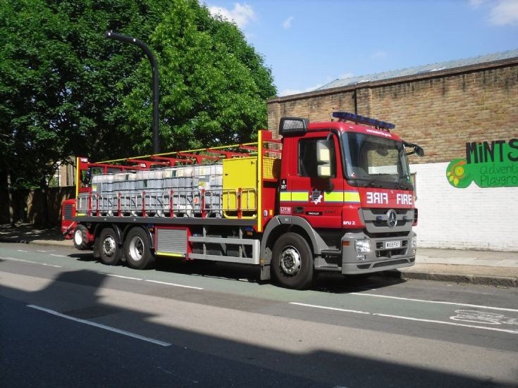 2010 Mercedes Actros B FU, London Fire Brigade