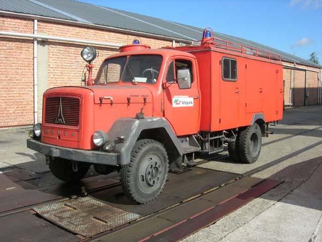 Pumper Magirus Deutz Vopak Antwerpen