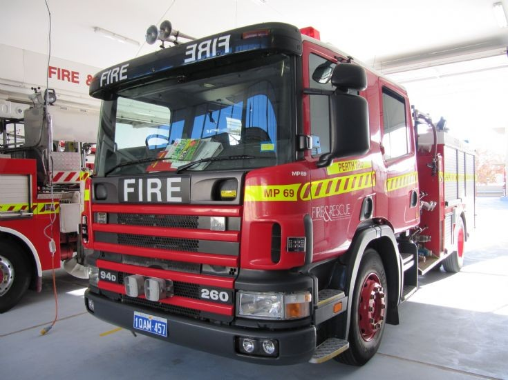 Perth City Rescue Pumper