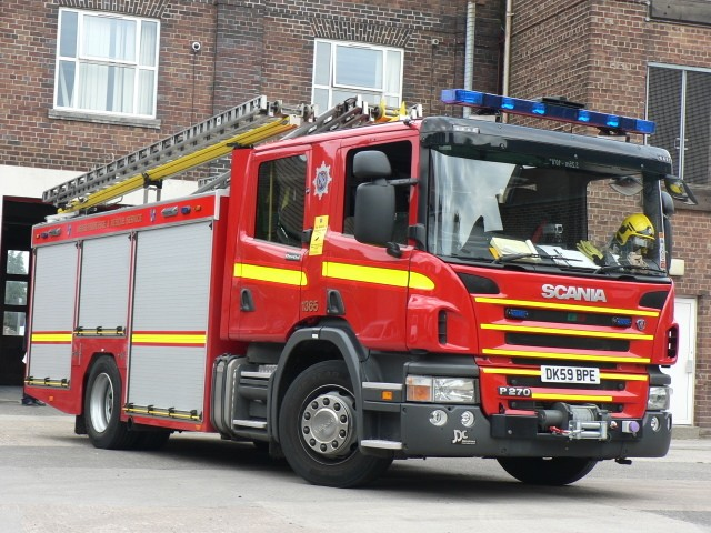 Merseyside F&RS P270 Rescue Pump