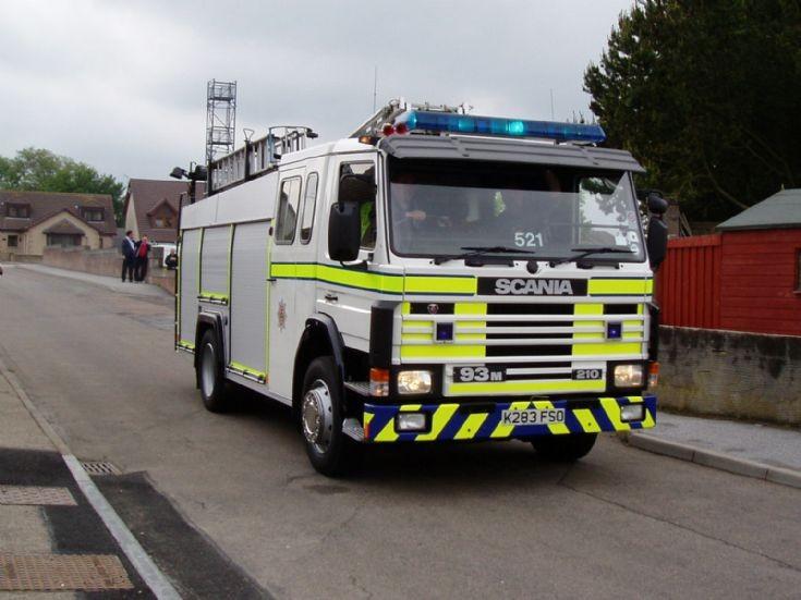 Grampian, 521 Aberchirder Mobile To Rtc.