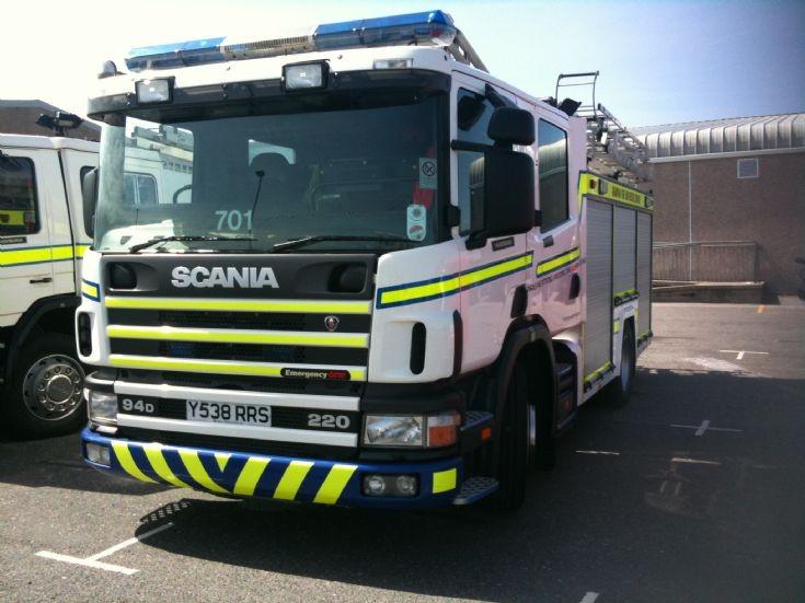 Grampian. 701 Fraserburgh Retained