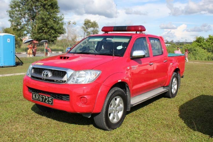 Toyota Hilux 2010. Toyota Hilux Support Vehicle