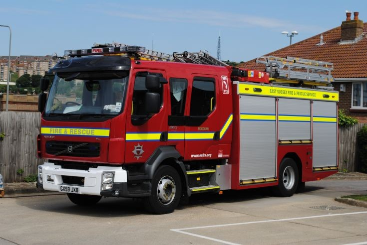 East Sussex Fire & Rescue Service Roedean New Pump