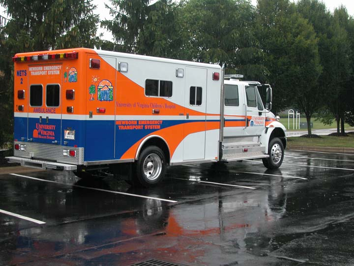 University of Virginia Critical Care Transport