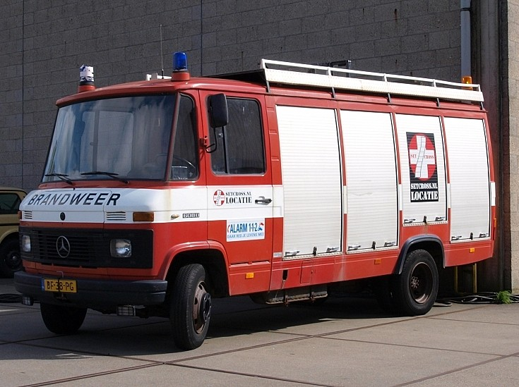 Mercedes fire engine BF-38-PG