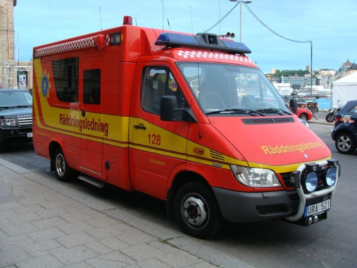 Stockholm Fire Department Sweden