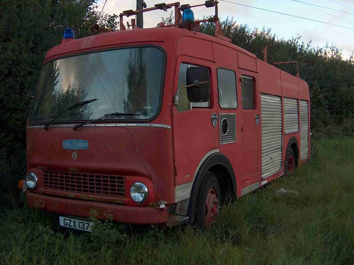 Bedford Fire Engine for Sale Cork Ireland