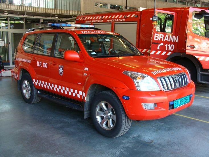Bergen Fire Department TLF.110
