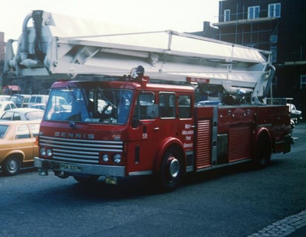 Dennis F123 HP SS85' West Midlands POA 337M