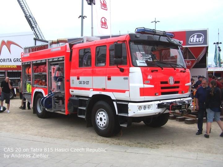 CAS 20 on Tatra 815
