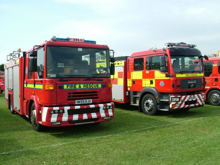 Sabre at Stockton Fire Engine Rally 27.06.10