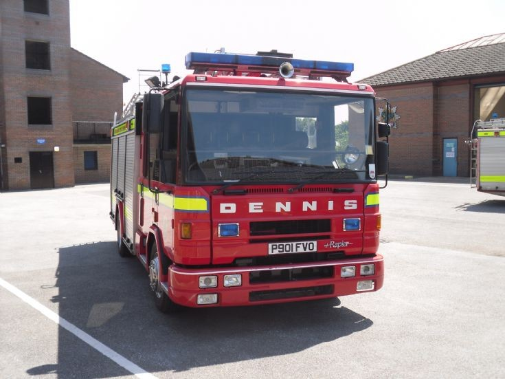 Ollerton Training Centre, Notts Fire and Rescue