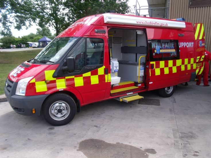 Ford Transit Welfare Support Unit