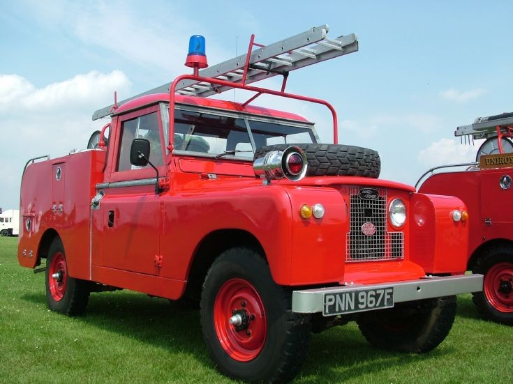 Land Rover Series 2A H.C.B. Angus Firefly