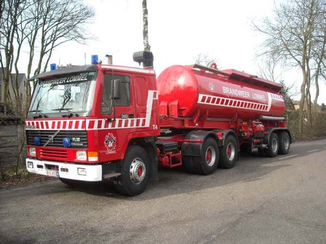 Water tanker Volvo