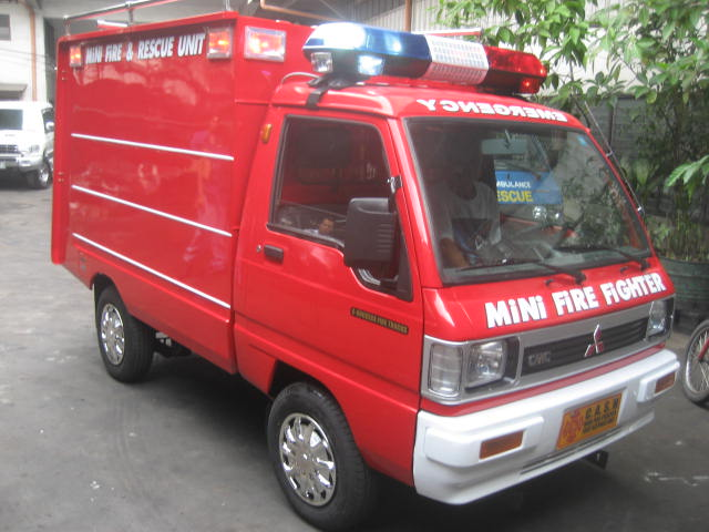 Mitsubishi Varica Mini Fire Fighter Unit C-Success