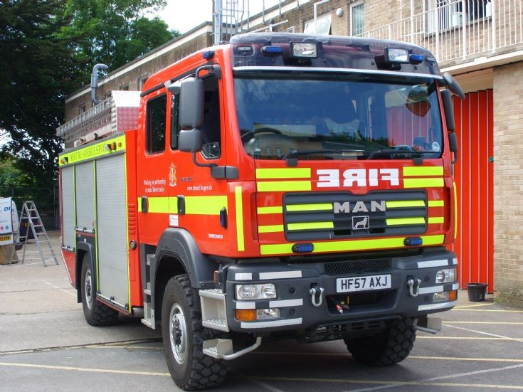 MAN 4x4 WTrT reg HF57 AXJ Dorset