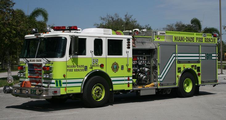 Miami Dade Fire Rescue Engine 35 - Florida