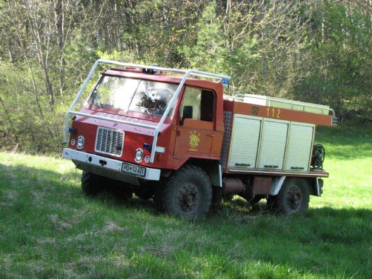 Slovenian fire truck - Pivka TAM 110