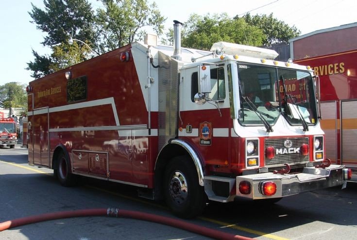 Toronto Fire Services command 60