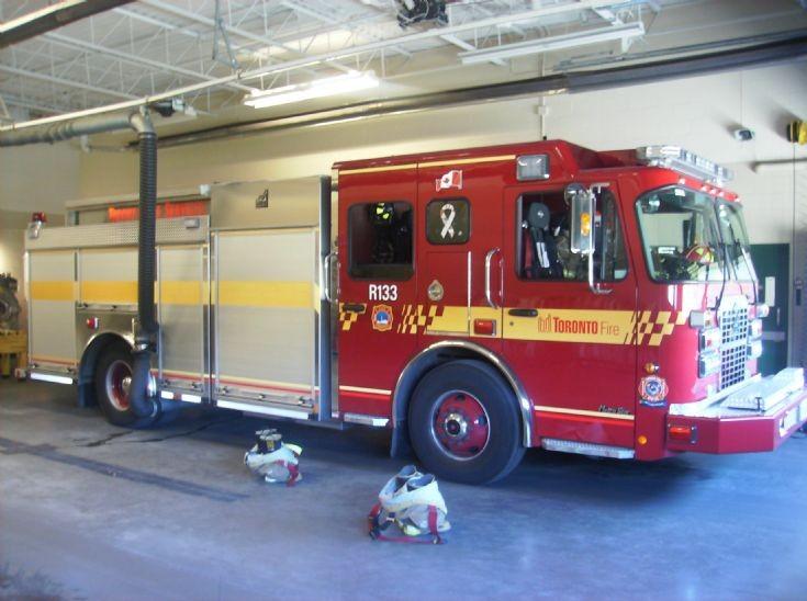 Toronto Fire Services rescue 133