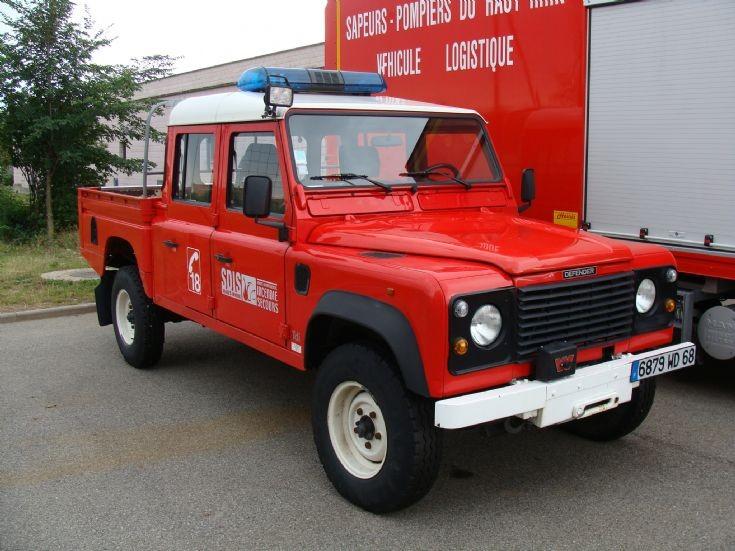 fire engines photos land rover colmar france. Black Bedroom Furniture Sets. Home Design Ideas