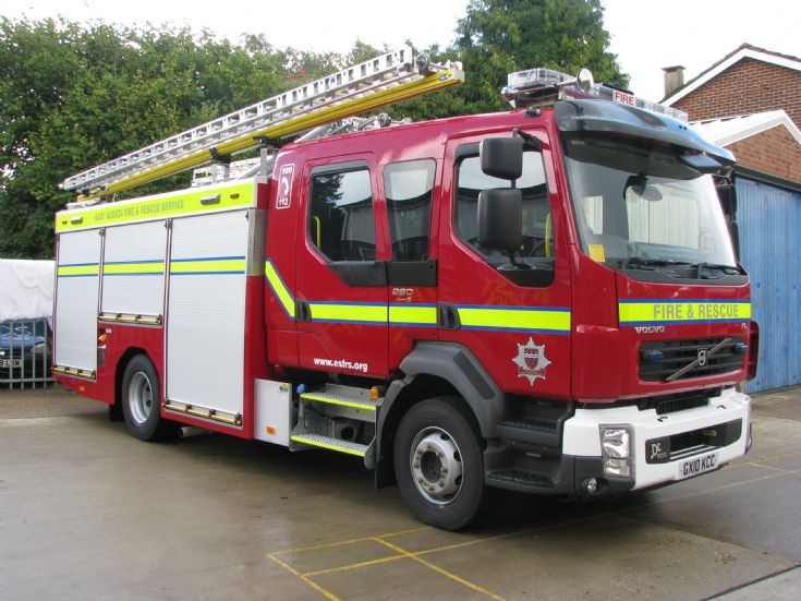 East Sussex Fire and Rescue Service Volvo