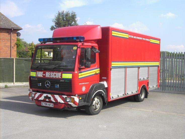 Devon and Somerset Mercedes S796 WYA