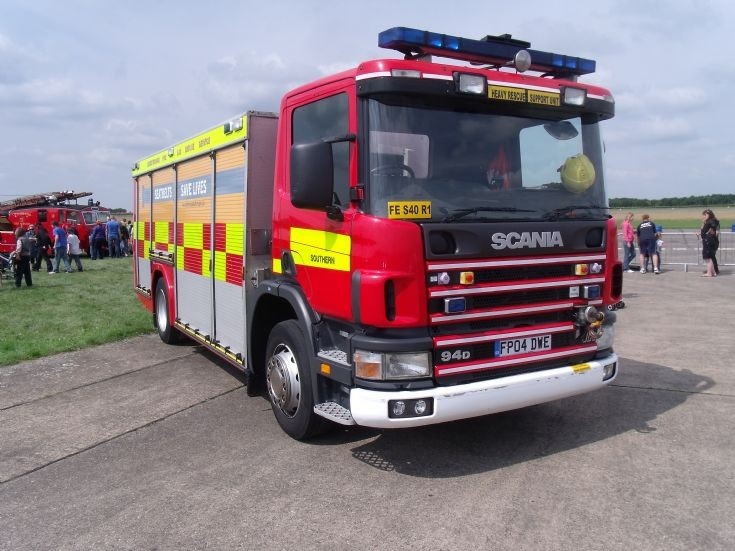 Heavy Rescue Support Unit Leicestershire FP04 DWE