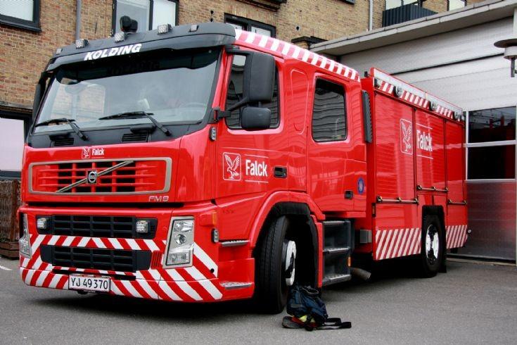 Falck Kolding Denmark Volvo YJ 49370