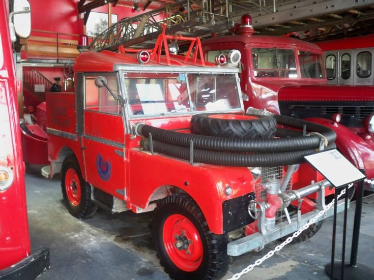 1953 New Zealand Fire Service Landrover
