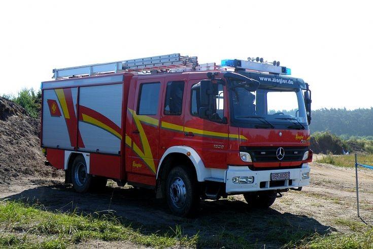 Mercedes-Benz Atego LF10/6 Demonstration unit