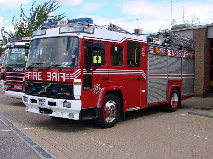 B&LF&RS at Kempston Fire Station 28/8/2010