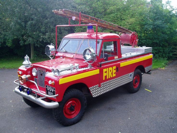 Land Rover S2 Armour Fire Engine