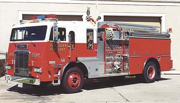 Vancouver Fire & Rescue, B.C. - Engine 15