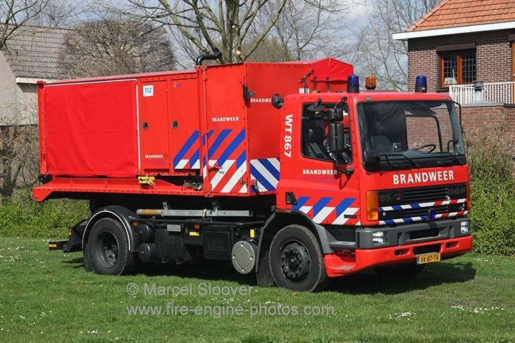 Brandweer Weert DAF 65 Prime mover