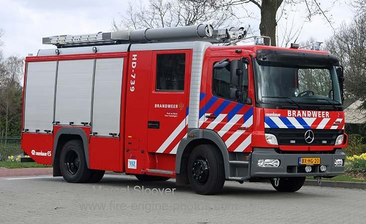 Brandweer Helden 739 Mercedes Benz Atego
