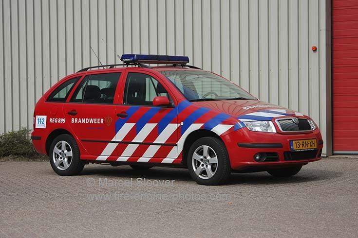 Brandweer Venlo REG899 Skoda Fabia