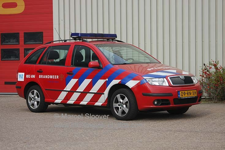 Brandweer Venlo REG696 Skoda