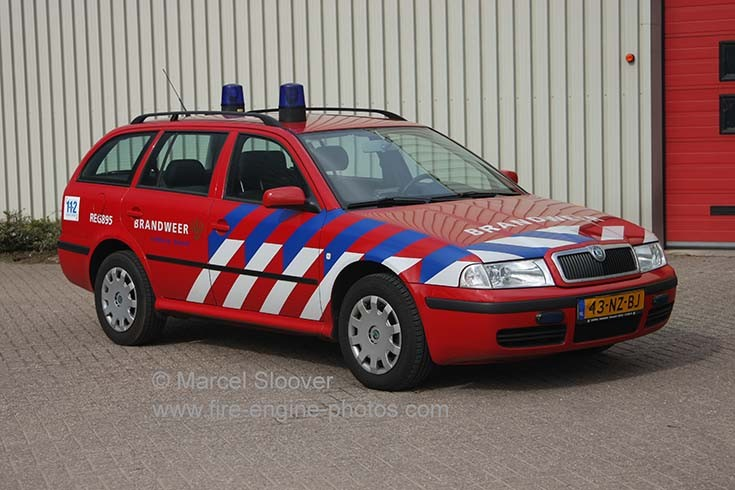 Brandweer Venlo REG895 Skoda