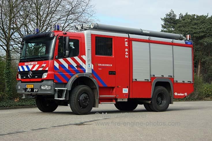 Brandweer Lommel Mercedes Kenbri Rosenbauer
